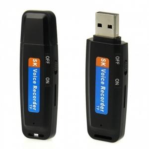 Mini reportofon spy mascat in stick USB de memorie  USBVR28 - varianta economica