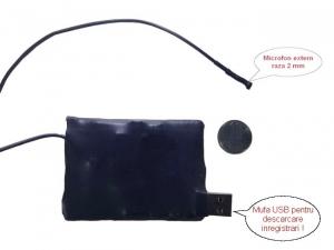 Modul spy 2mm reportofon 548  de ore– 10 zile de autonomie X-tend BB548REPHDXTE