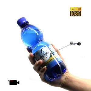 Minicamera Video Spy DVR Integrata in Sticla de Apa 500ml, Rezolutie Full Hd 1920x1080p, 32Gb