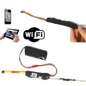 Modul microcamera IP spion wireless 1080p HD vizualizare online MCIPW1080P